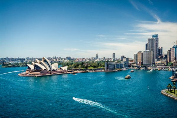 Spotpris på flybilletter til Sydney (Australien) for kun 5.497,- pr. person for fly tur/retur